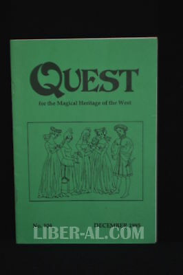 QUEST (for the Magical Heritage of the West) No.104 December 1995