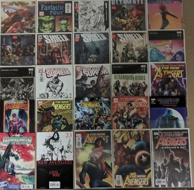 Marvel Variant Lot Comics Huge Lot 25 Comic Book Collection Set Run Books Box 4