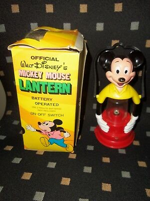1977 Mickey Mouse light-uplantern with handle