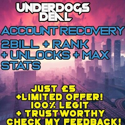Grand Theft Auto V|PC|1.44|Safe|Account Recovery|