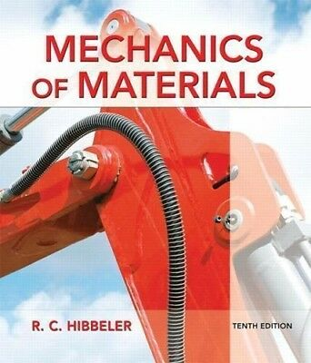 PDF Version! Mechanics of Materials. BEST DEAL! 10th Edition.  #9780134319650