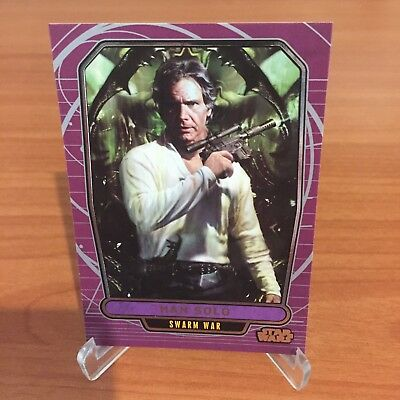 Star Wars Galactic Files Series 2 HAN SOLO # 535