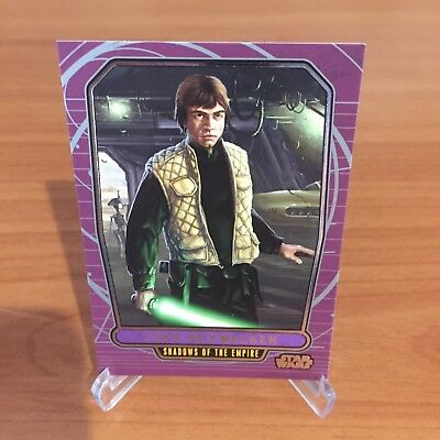 Star Wars Galactic Files Series 2 LUKE SKYWALKER # 534