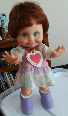Baby Face Galoob doll #9 1990 So Shy Sherri with original outfit and shoes