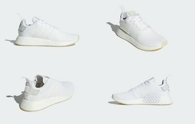 the best attitude af629 db9c3 ADIDAS NMD_R2 RUNNING Triple White Mens Shoes CQ2401 Size 11 US