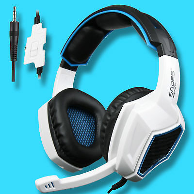 SADES SA-920 Gaming Headsets Stereo Headphones for PS4 pro Xboxone PC PS3 w/MIC