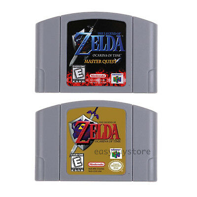 Nintendo N64 Video Game The Legend of Zelda Ocarina of Time Master Quest US Ver