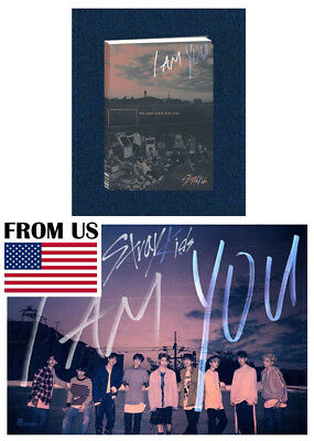 K-POP 3rd Album [I am ver.] STRAY KIDS I am YOU CD+Photobook+3QR Photocards+Gift
