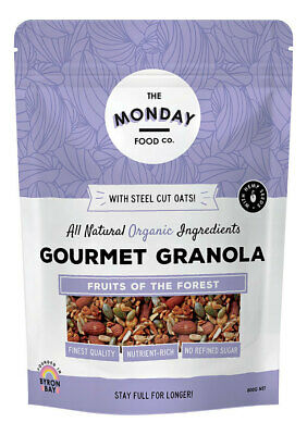 Gourmet Granola - Fruits of the Forest 800g - The Monday Food Co