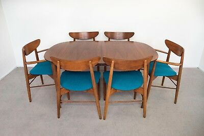 Mid Century Modern 1960's Dining Set by Stanley Furniture