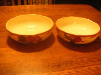 40 VINTAGE FRANCISCAN Ware Apple Pattern Serving Bowls Made In Classy Franciscan Ware Patterns