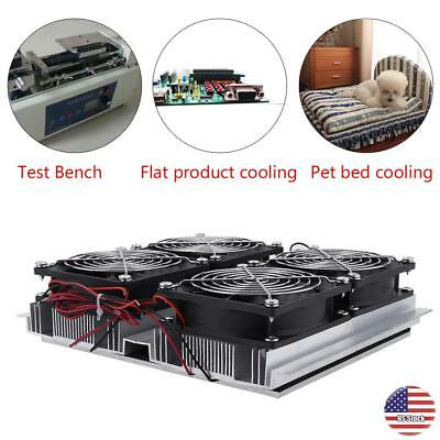 240W DC 12V Semiconductor Refrigeration Thermoelectric Peltier Four Chip Cooling