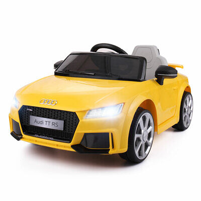 12V Audi Kids Ride On Cars Toys Gift Kid Electric Car W/MP3 Led lights Romote