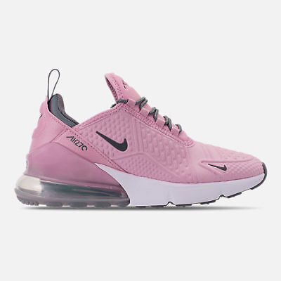 official photos 8f9c2 9f854 NIKE AIR MAX 270 Light Arctic Pink Cool Grey White AQ2654 600 Kids Girls GS