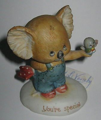 Melbourne By Morgan Inc George Good Collection Koala You're Special Figurine -Gd