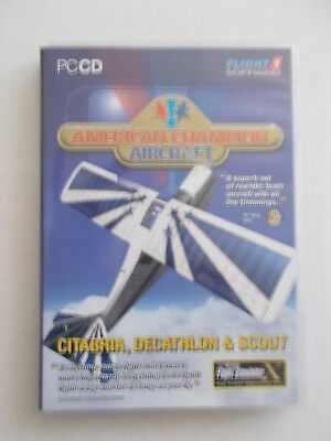 - Flight Software - American Champion Aircraft [Pc Cd-Rom]  [Brand New] $89.75]