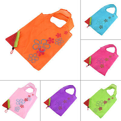 1 pc Strawberry Foldable Shopping Bag Tote Reusable Eco Friendly Grocery Bag II