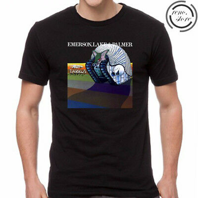 Emerson Lake and Palmer Tarkus Rock Legend Men's T-Shirt Size S M L XL 2XL 3XL