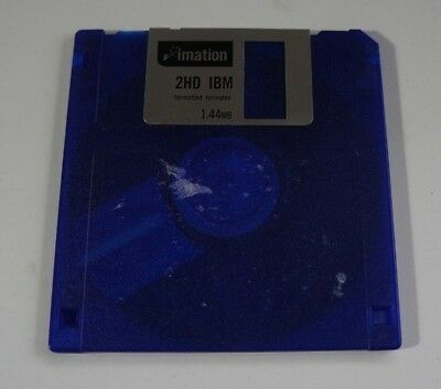 Imation 2HD IBM Formatted 1.44MB Floppy Disk - edc