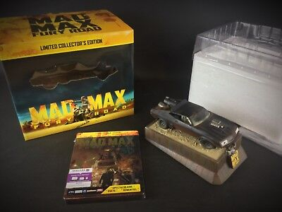 Coffret Mad-Max fury road Blu ray Edition Collector Limitée voiture interceptor.
