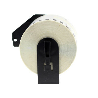 Compatible Brother DK-2205 White 2.4'' x 100ft Refillable Cartridge Paper Labels