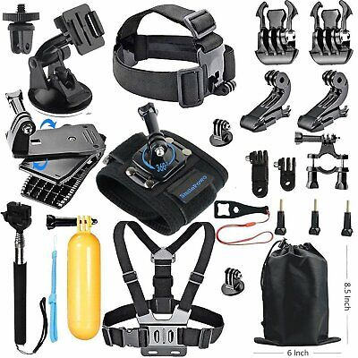 Essentials 18-in-1 Action Camera Accessories Kit GoPro Hero 6/5/4/3/2/1 Session