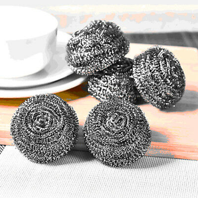 1pc Soldering Solder Iron Tip Cleaner Brass Cleaning Wire Sponge Ball silver