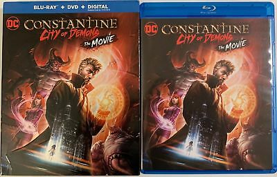 Constantine City Of Demons The Movie Blu Ray Dvd 2 Disc Set + Slipcover Sleeve