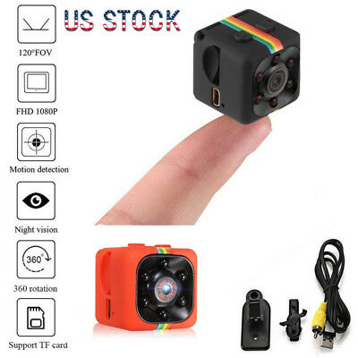 Mini 1080P SQ11 HD Hidden Car DVR Camera Infrared Video Recorder IR Night Vision
