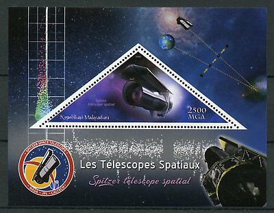 Madagascar 2018 MNH Space Telescopes Spitzer Telescope 1v S/S II Stamps