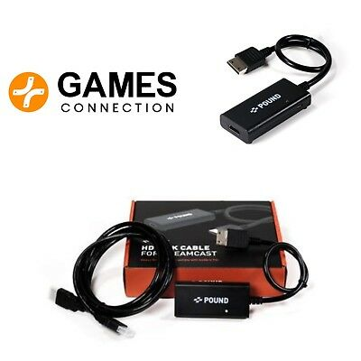 HD Link Cable for Dreamcast - Pound Tech - HDMI - Official European UK Stockist