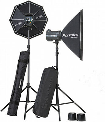 193496  Elinchrom BRX 500/500 Softbox to go Set, Studioblitzanlage.