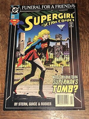 1993 SUPERMAN IN ACTION COMICS #686 DC Comics VF//NM FUNERAL FOR A FRIEND #6