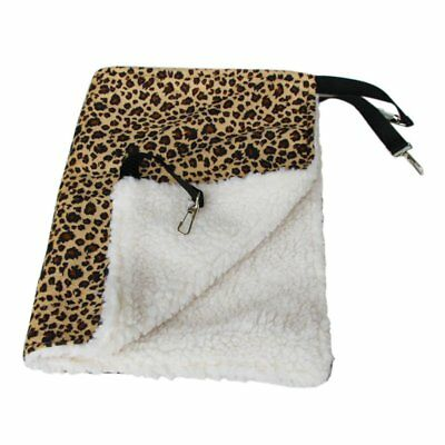 Warm Hanging Cat Bed Mat Soft Cat Hammock Hammock Pet Cage Bed Cover Cushion DY