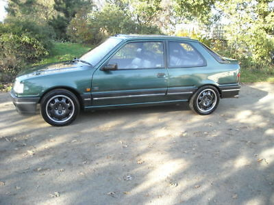 Peugeot 309 Gti Goodwood Turbo Technics From New Very Rare