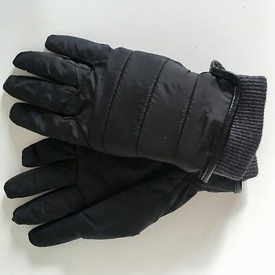 Ladies Gloves Black - Marks and Spencer, BRAND NEW warm, lined, elasticated cuff