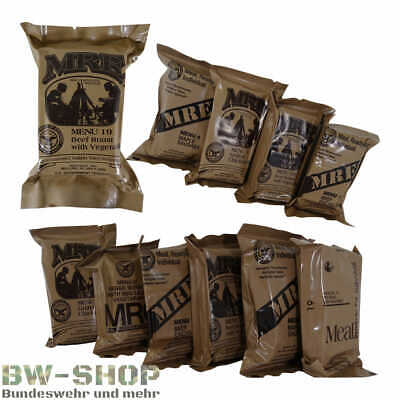 Original Us Army Mre Tagesration Us Armee Food Menü Notration Epa Essen Outdoor