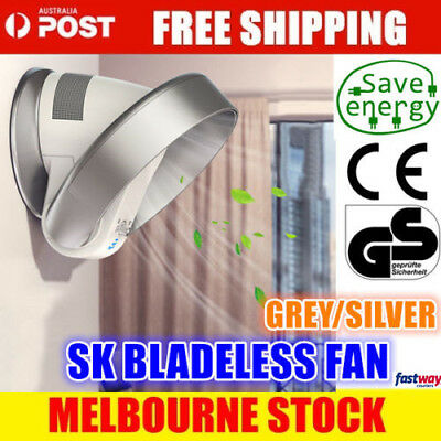 Air Conditioning Fan Bladeless Cooling Fan Remote Control Shake Wall-Mounted SK