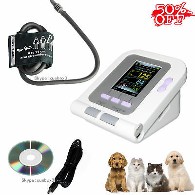 Cat/Dog/Animal/Vet Electronic Sphygmomanometer Blood Pressure Monitor + Software