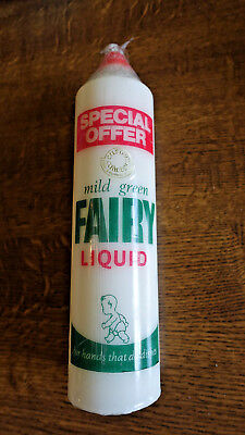 Fairy Liquid Candle. Rare Collectors Item. Wrapped And Boxed. App 45 Years Old