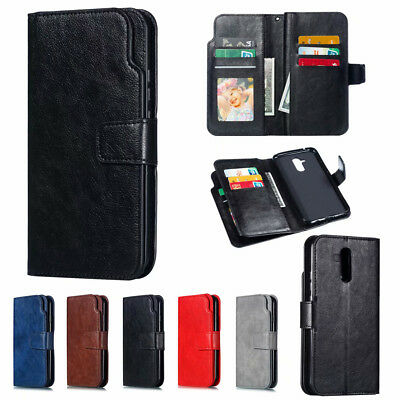 For Huawei Mate 20 Pro P20 P Smart Magnetic Flip Leather Wallet Stand Case Cover
