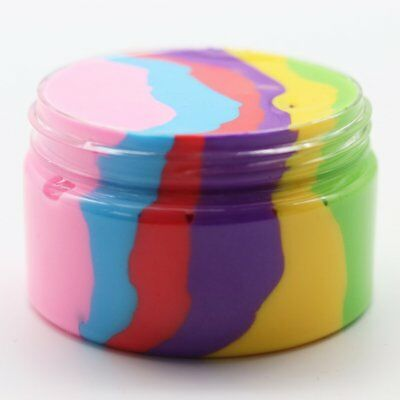 Colorful Fluffy Foam Slime Mixing Cloud Slime Putty Stress Reliever Clay Toy HO5