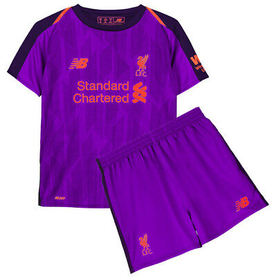 Football kids Liverpool Away Kit 2018/19