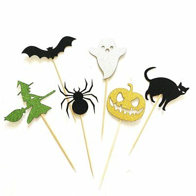 Ghost Festival Halloween Spider Card  Pumpkin Cat Elf Photo Booth Props DY