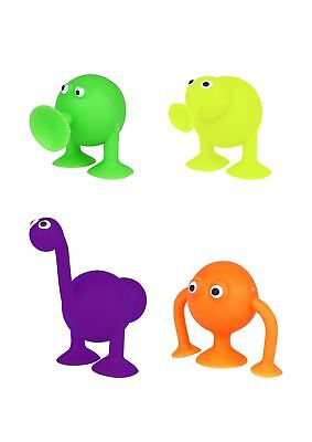 "1.5"" Sucker Animal Suction Stick On Alien Kids Loot Party Bag Filler Favour Toys"