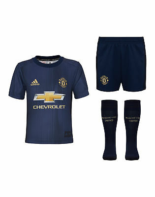 Football kids Manchester United third Kit 2018/19
