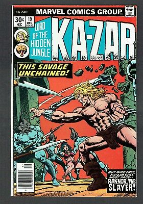 Ka-Zar #19 Marvel Comics Bronze Age 1976 VF+ Lord of the Hidden Jungle & Zabu