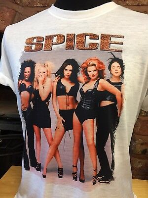 Spice Girls T-Shirt. men's women's sizes S-XXL. 90s Retro Vintage Spiceworld
