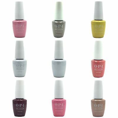OPI GelColor New Bottle Soak Off LED/UV .5oz Pick 1