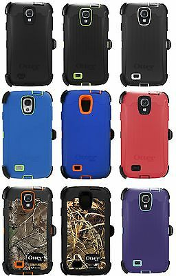 Otterbox Defender Case And Belt Clip For Samsung Galaxy S4 S IV